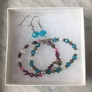 Jewelry - Handmade Crystal Bracelets & Earring Set